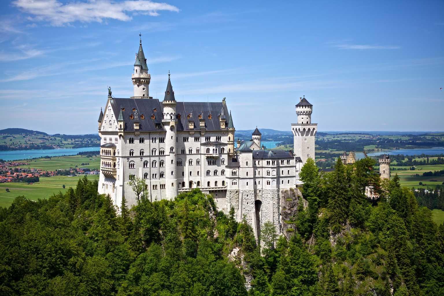 картинки замки в европе когда видим фото